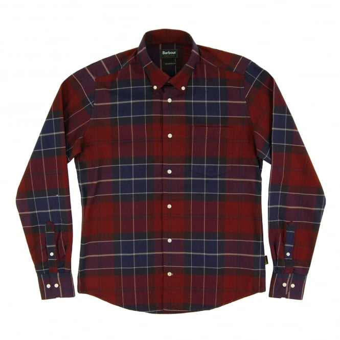 Barbour Lustleigh Tailored Check Shirt Port