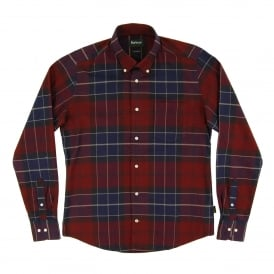 Lustleigh Tailored Check Shirt Port