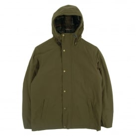 Lytham Hooded Waterproof Jacket Olive
