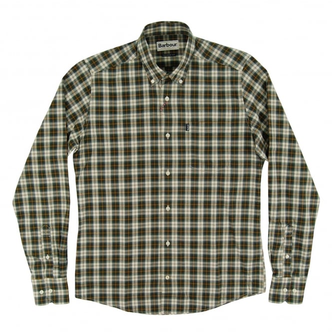Barbour Malcolm Tailored Check Shirt Ancient Tartan