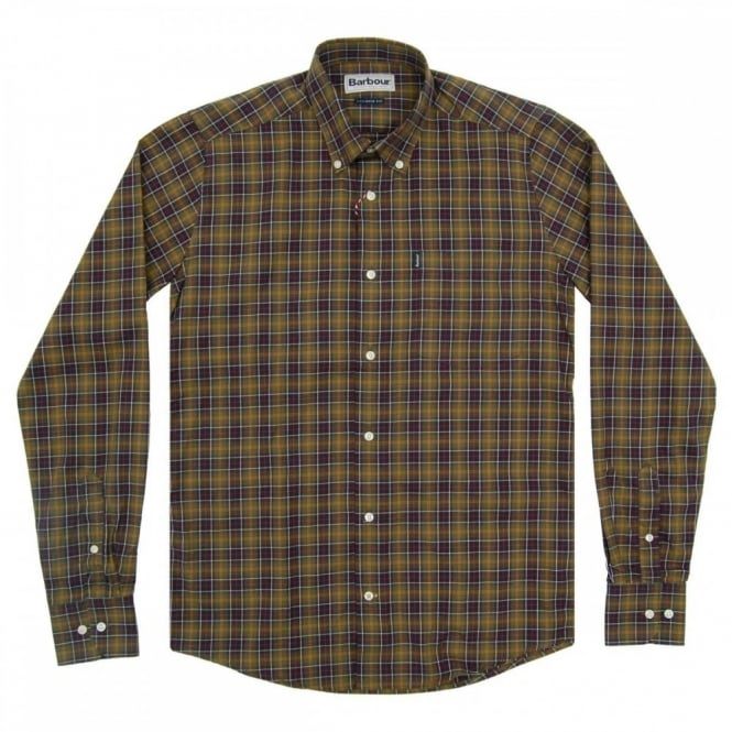 Barbour Malcolm Tailored Check Shirt Classic Tartan