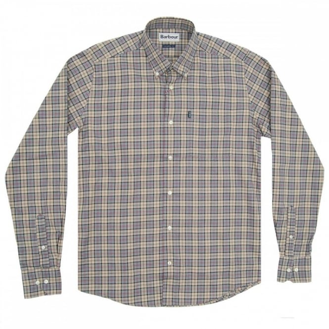 Barbour Malcolm Tailored Check Shirt Dress Tartan