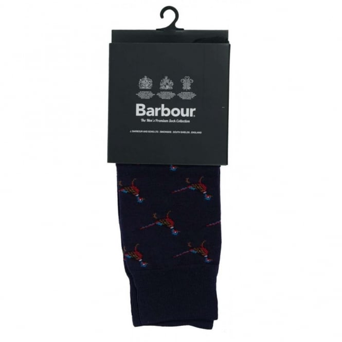 Barbour Mavin Socks Navy Pheasant