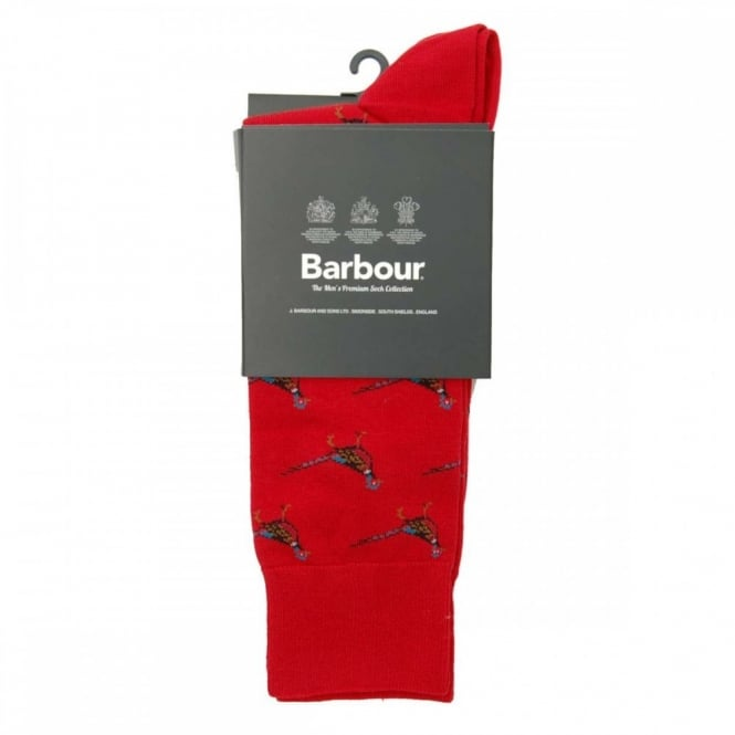 Barbour Mavin Socks Red Pheasant