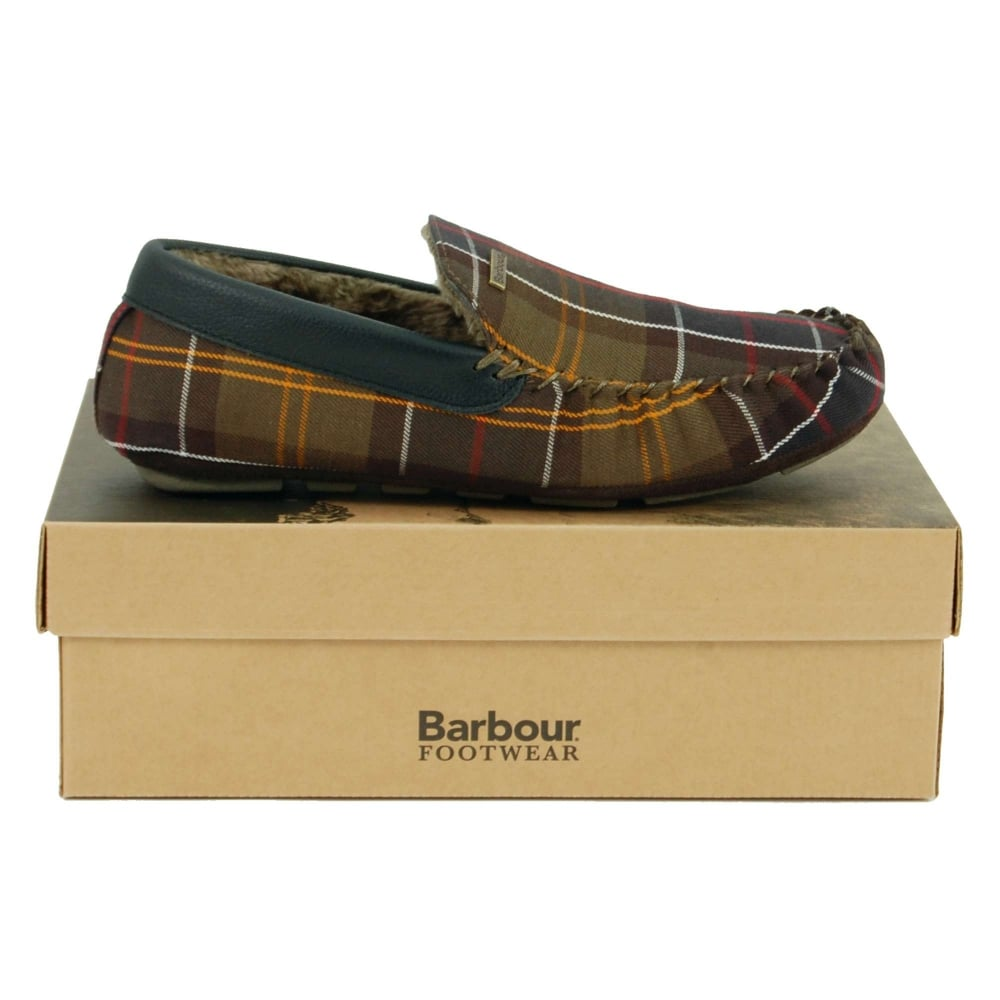 5bae582e1c83 Barbour Monty Tartan Slippers Classic Tartan - Mens Clothing from ...