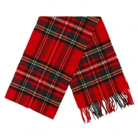 New Check Tartan Scarf Royal Stewart