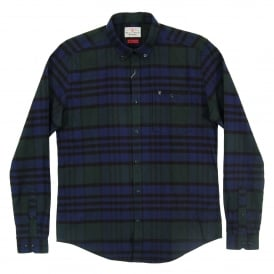 Newton Check Shirt Forest