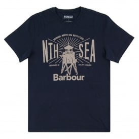 North Sea T-Shirt Navy