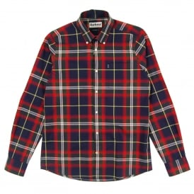 Oscar Check Shirt Navy