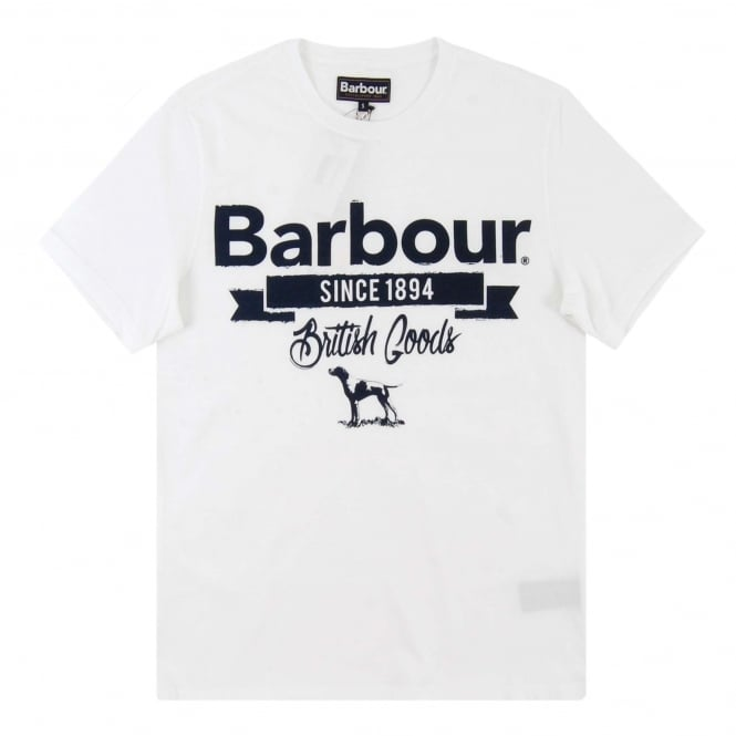 Barbour Pointer T-Shirt White