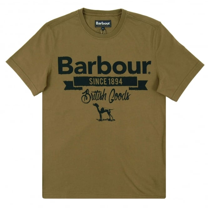 Barbour Pointer T-Shirt Willow Green