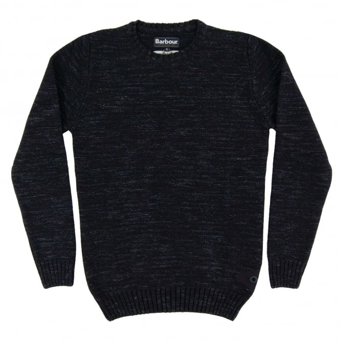 Barbour Portlight Crew Jumper Navy