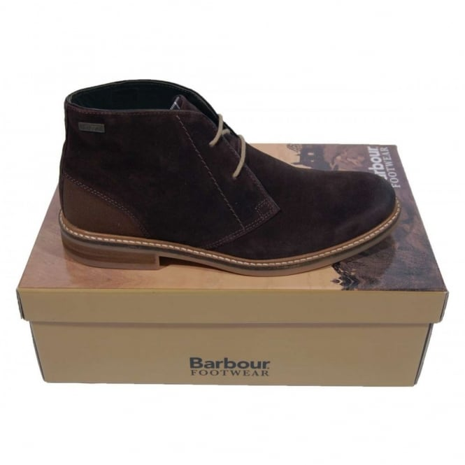 ef421323d03 Barbour Readhead Boots Suede Brown