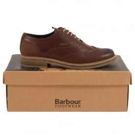 Redcar Oxford Brogues Conker