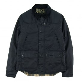 Reelin Wax Jacket Navy
