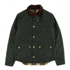 Reelin Wax Jacket Sage