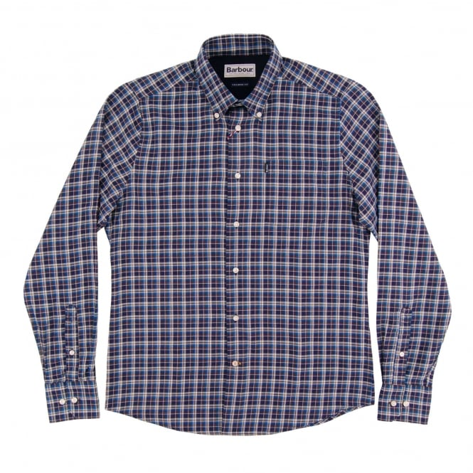 Barbour Rory Check Shirt Navy