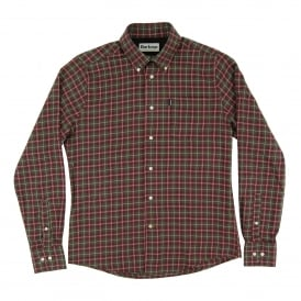 Rory Check Shirt Olive