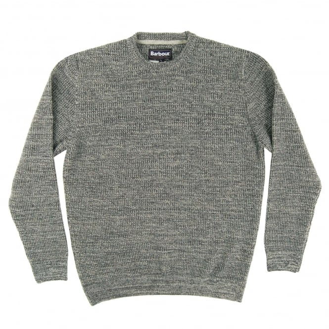 Barbour Roxen Crew Jumper Mid Grey