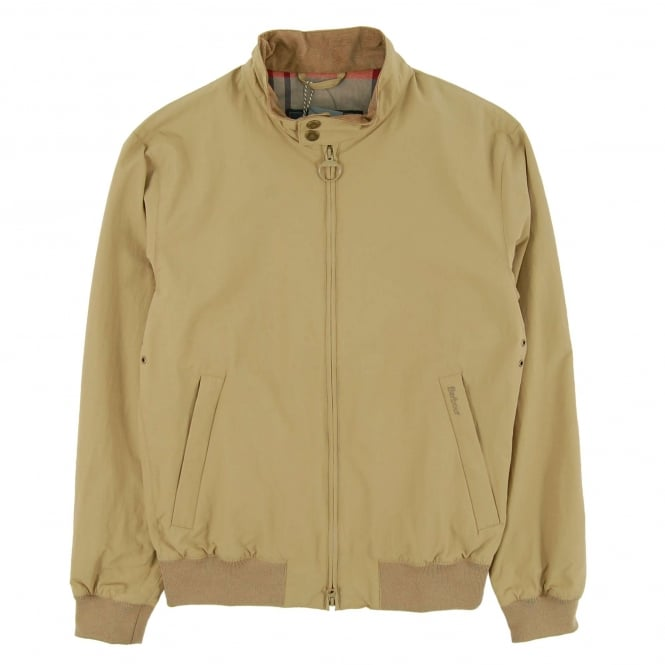 Barbour Royston Harrington Jacket Light Sand