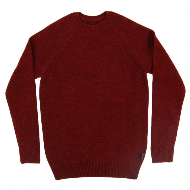 Barbour Rydal Crew Jumper Rich Red