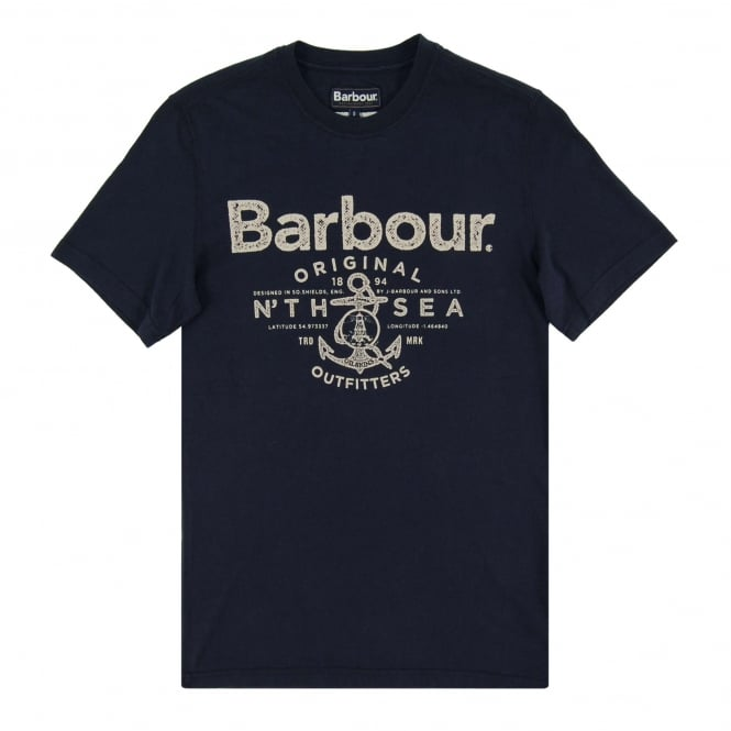 Barbour Sea T-Shirt Navy