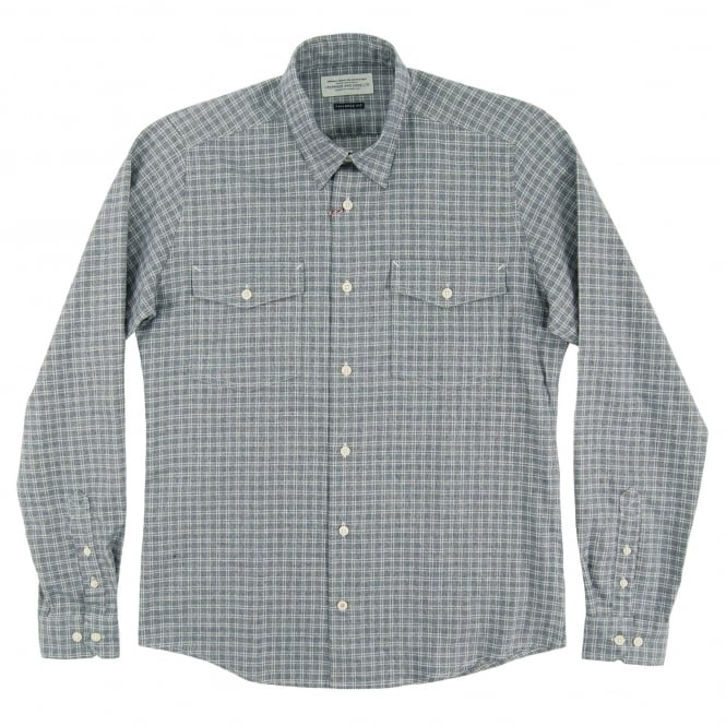 Barbour Shincliffe Check Shirt Navy