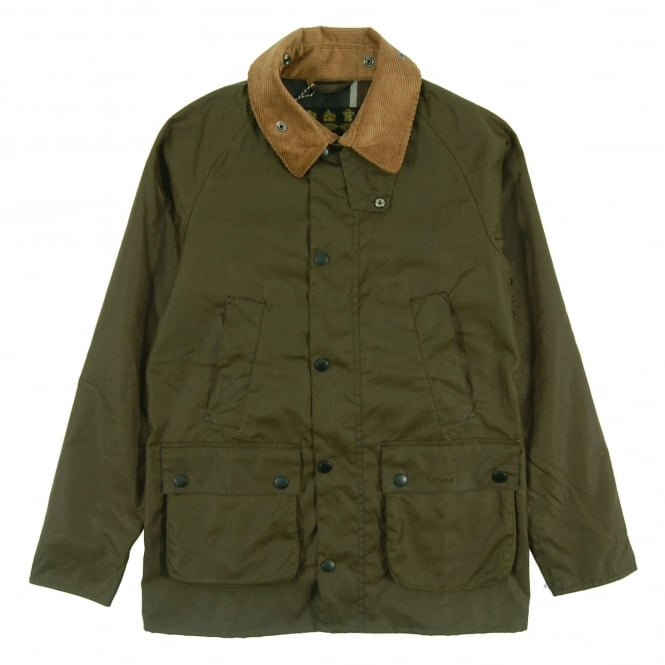Barbour Slim Line Bedale Wax Jacket Archive Olive