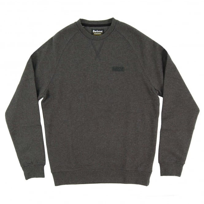 Barbour International Small Logo Sweat Charcoal