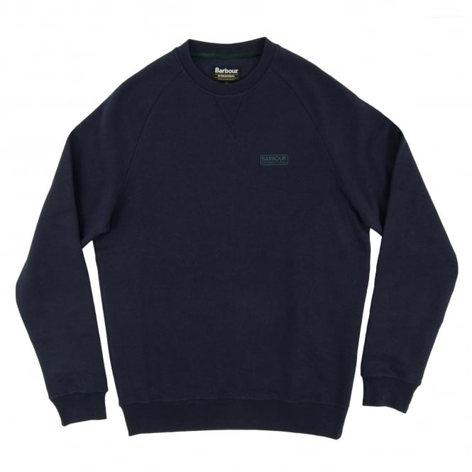 Barbour International Small Logo Sweat Navy