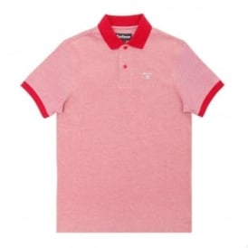 Sports Polo Mix Red