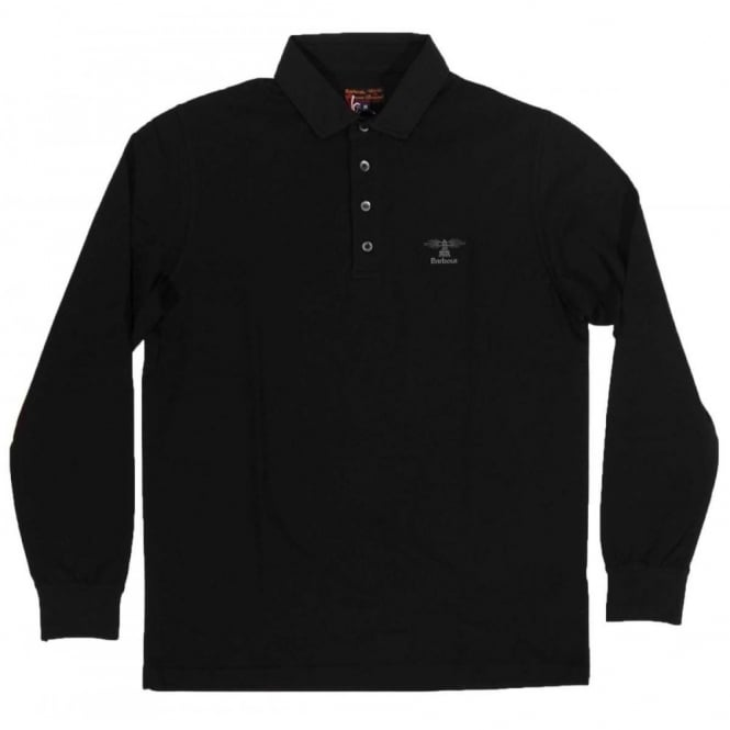 Barbour Standards LS Polo Black