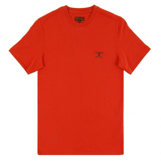 Barbour Standards T-Shirt Rust