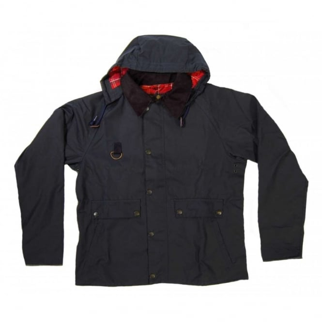 604ebfcb0 Barbour Standen Wax Jacket Navy