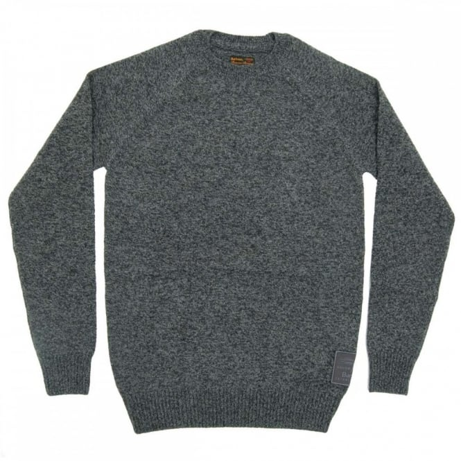 Barbour Staple Crew Jumper Charcoal