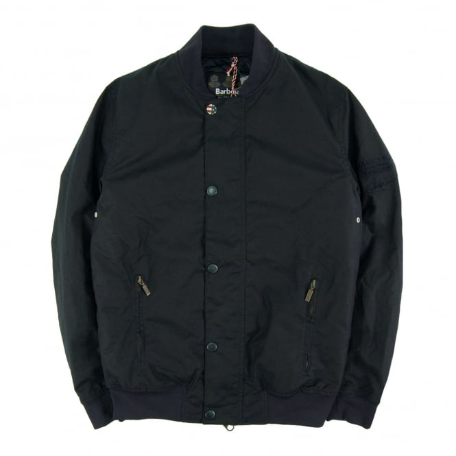 Barbour Steve McQueen™ Beech Wax Jacket Navy