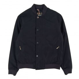 Green Waterproof Jacket Navy