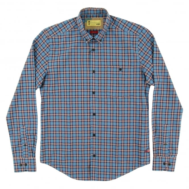 Barbour Steve McQueen™ Hero Check Shirt Chambray