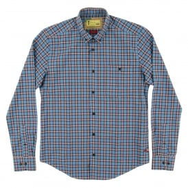 Hero Check Shirt Chambray