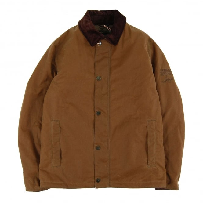 Barbour Steve McQueen™ Sandford Wax Jacket Tan