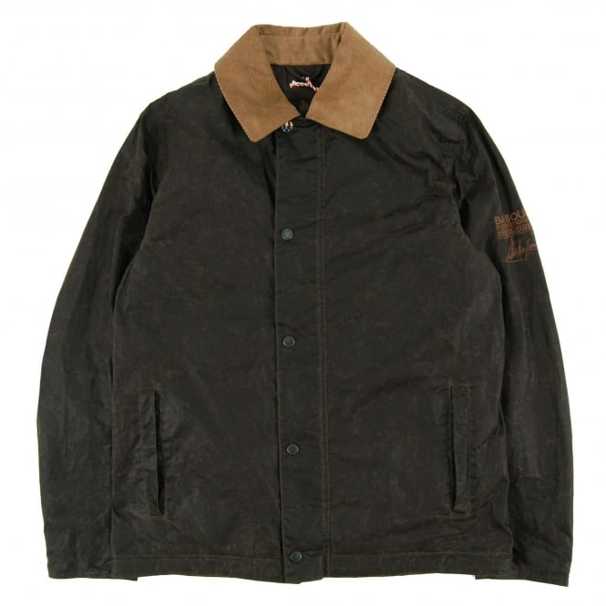 Barbour Steve McQueen™ Tread Wax Jacket Olive