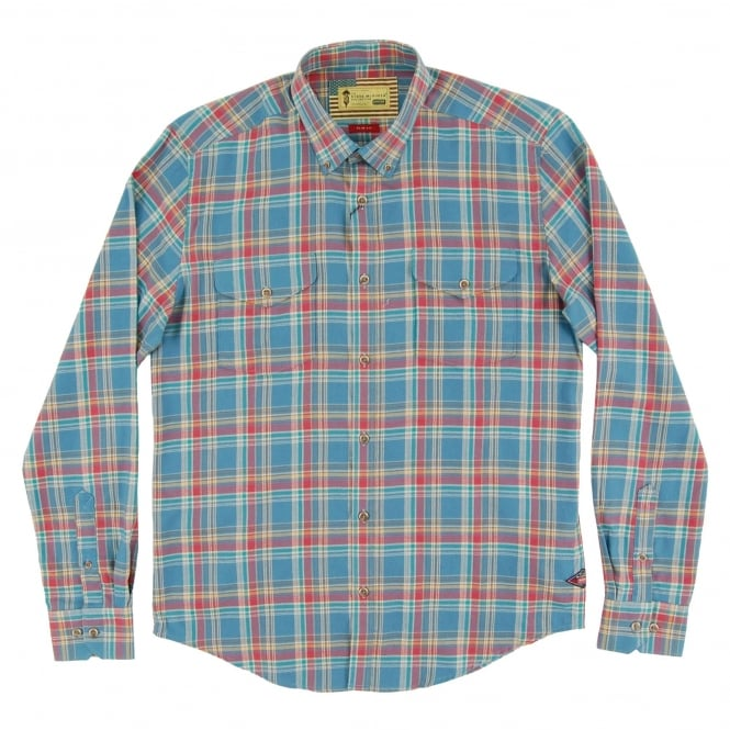 Barbour Steve McQueen™ West Check Shirt Chambray