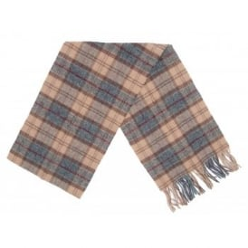 Tartan Lambswool Scarf Winter Dress