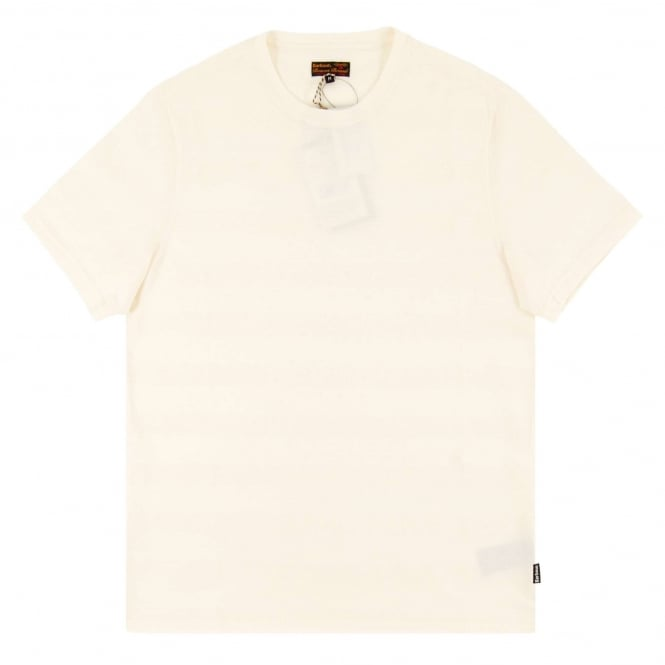 Barbour Textured Stripe T-Shirt Neutral