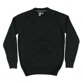Tisbury Crew Jumper Black