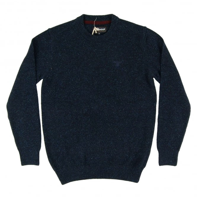 Barbour Tisbury Crew Jumper Navy