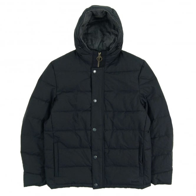 Barbour Wareford Quilted Jacket Navy