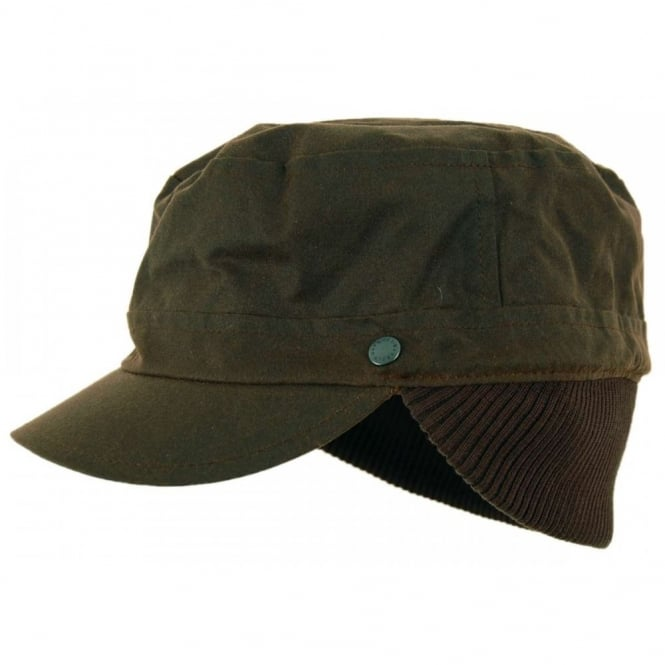 Barbour Wax Military Hat Olive Mens Clothing From Attic