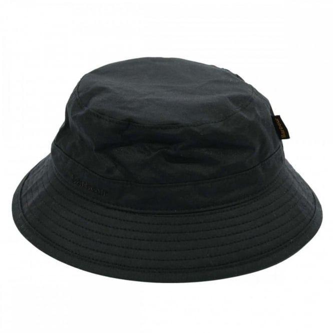 Barbour Wax Sports Hat Black - Mens Clothing from Attic Clothing UK 3438c2df6f8