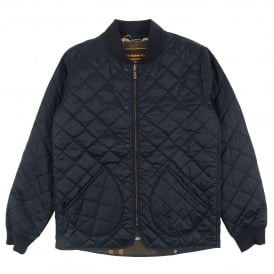 Windrow Quilt Jacket Navy
